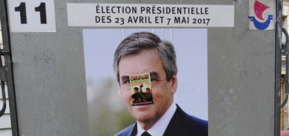 Francois Fillon affiche - opinion - CC BY