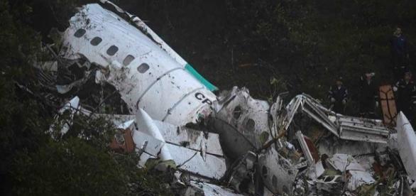 O desastre matou a maioria dos passageiros