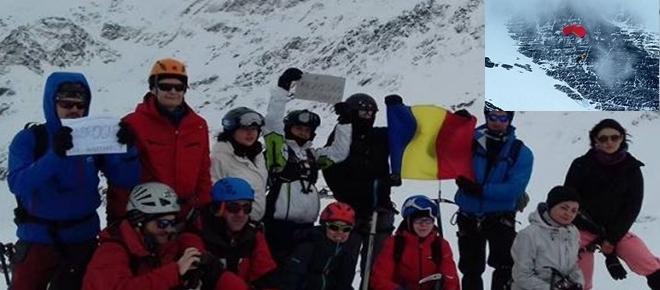 Protest românesc de pe cel mai înalt vârf al lumii, Everest. Iată cine a fost