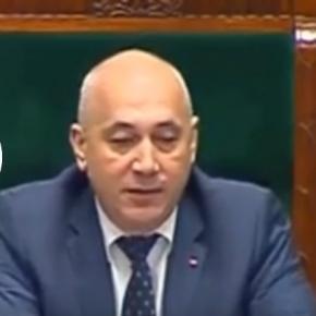 Marszałek humorystycznie odniósł się do wypowiedzi posła Szczerby.
