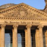 """6000 Lobbyisten in Berlin, 60000 in Brüssel - es ist also alles bestens """"geregelt""""!"""