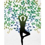 Albero yoga della brochure sul percorso Corpo Consapevole