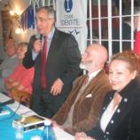 """Karim Ouchikh, Président du SIEL (Souveraineté Identité et Liberté) a vu ses effectifs """"exploser"""" depuis l'affaire Pénélope Fillion."""