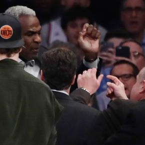 Charles Oakley fue expulsado del Madison Square Garden