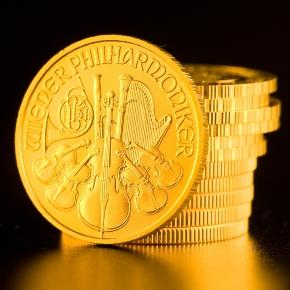Goldmünzen der Reisebank (Quelle:ots/Reisebank)