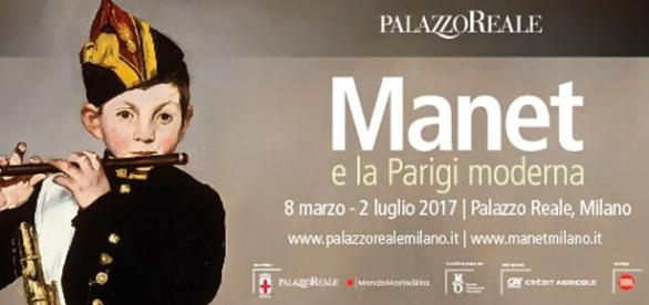 Manifesto della mostra su Manet