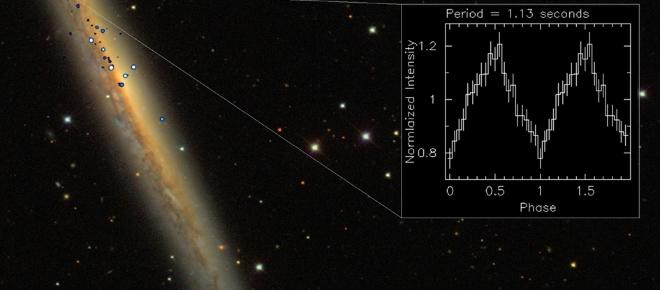 Brightest pulsar ever detected