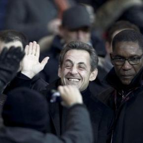 """Barça-PSG: Le """" Hala Madrid """" de Nicolas Sarkozy!"""