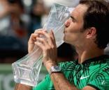 Federer, el mejor de todos, festeja un nuevo titulo en 2017
