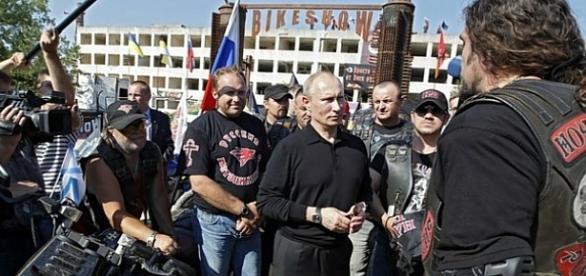 Putin und Die Nachtwölfe: Bald neue Freunde Kaczynskis? kremlin.ru, CC B-Y 3.0