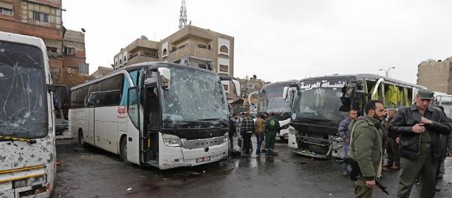 Doble ataque terrorista en Damasco