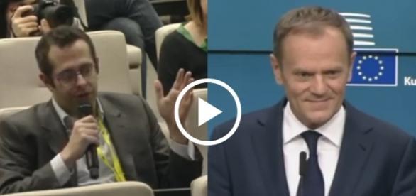 Słowa przewodniczącego Rady Europejskiej został skwitowane śmiechem.