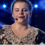 """Lorelai Moşneguţu a cântat la concursul """"Românii au talent"""""""