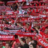 O Estádio da Luz promete mais uma enchente para a receção ao Belenenses