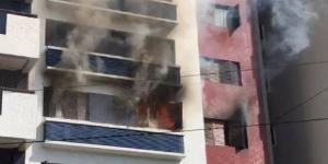 Incêndio atinge terceiro andar e provoca evacuação de prédio em Curitiba