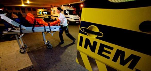 O INEM tudo fez para salvar a criança de 2 anos, que infelizmente acabou por perder a vida.