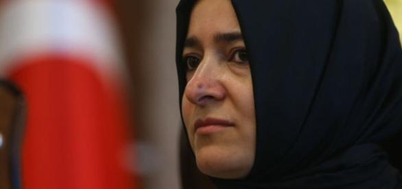 Von der niederländischen Polizei aus dem Land geworfen: Die türkische Familienministerin. (Foto URG Suisse: Blasting.News Archiv)