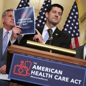 Speaker Paul Ryan defended the House Republican health care plan ... - bostonglobe.com