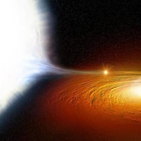 Star discovered whipping around a black hole twice an hour ... - sciencedaily.com