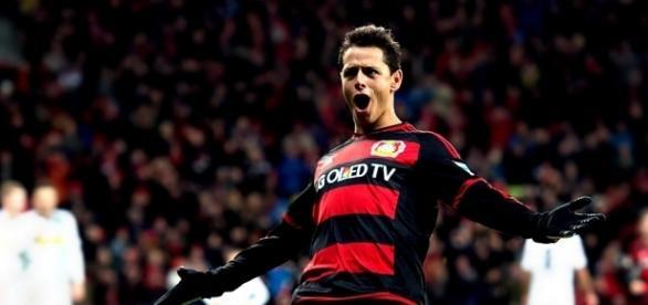 Chicharito llegó a 100 goles en Europa | MedioTiempo - mediotiempo.com