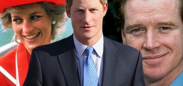 Diana: Harry non sarebbe il figlio di James Hewitt.