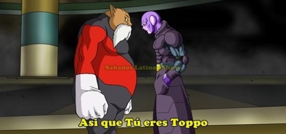 Dragon Ball Super: Hit versus Toppo, Goku vs. Jiren (Universo 11)