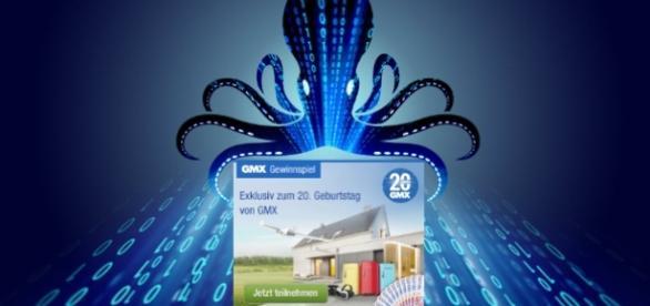 GMX feiert mit Datenweitergabe an Partnerunternehmen / Symbolbild; Fotos: kpmg.de DigitalArchive, GMX.de