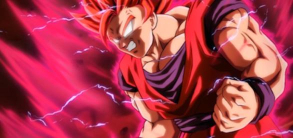 Goku es denominado por la ira y la sed de sangre