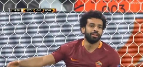Mohamed Salah, attaccante della Roma