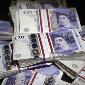 British Pound Banknotes As Currency Rises After Central Bank Keep ... - gettyimages.co.uk
