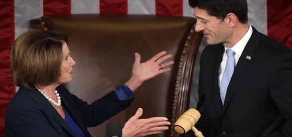 Nancy Pelosi and Paul Ryan re: Google Advanced Images
