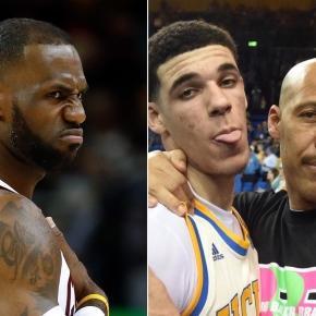 LeBron James kids get critiqued by LaVar Ball - www.facebook.com/MJOAdmin