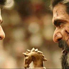 Prabhas and Rana from 'Baahubali 2' movie (Image credits: Screencap from youtube.com/baahubalimovie)