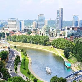 Vilnius la capitale della Lituania