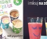 """Nowa książka """"Zielone Koktajle dla mam i dla dzieci. 365 przepisów"""""""