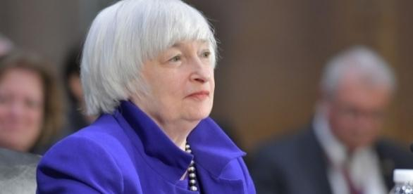 Chair of the U.S. Federal Reserve Board System Janet Yellen / Federalreserve, Flickr CC BY-SA 1.0 Public Domain