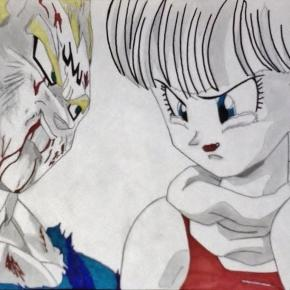 Bulma's Grief for Vegeta by WatersDBZArt on DeviantArt - deviantart.com