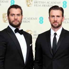 Chris Evans and Henry Cavill at the BAFTAs 2015 Lainey Gossip ... - laineygossip.com