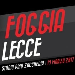 Foggia-Lecce, derby in Lega Pro