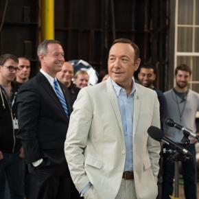 House of Cards set with Kevin Spacey via Wikimedia Commons
