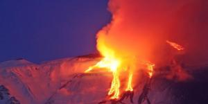 Eruzione dell'Etna di oggi, 16 marzo 2017