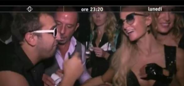 Pio e Amedeo con Paris Hilton a Dubai