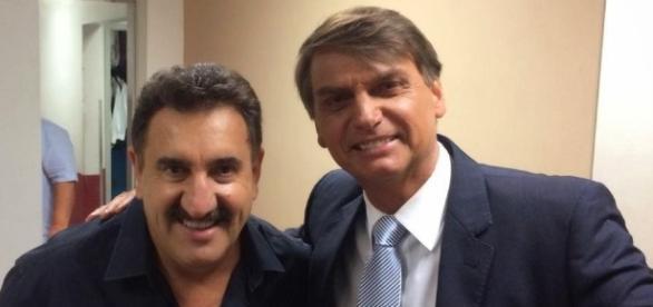 Ratinho entrevistou o deputado federal Jair Bolsonaro