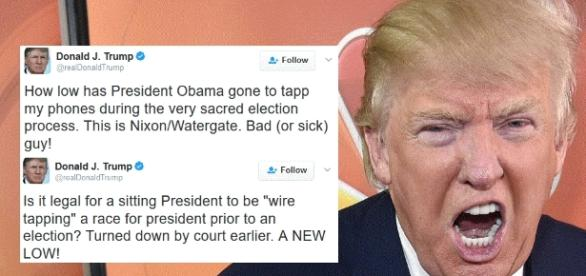 Trump: Obama Wiretapped My Office - Joe.My.God. - joemygod.com