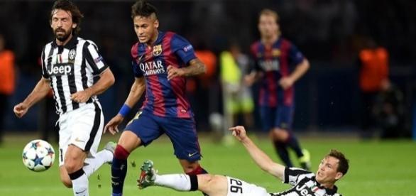 Barcelona vs Juventus: Postales del gol de Neymar (FOTOS) - peru.com