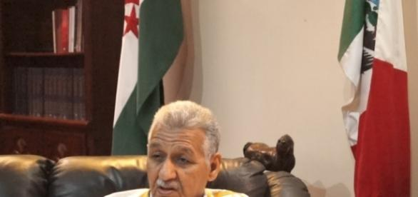 Honorable Embajador Ahmed Mulay Alí. Arturo López. 2017. Ciudad De México.