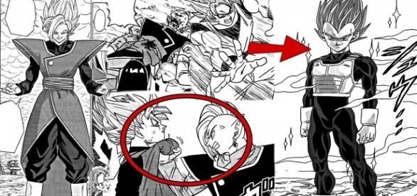 Primeras imágenes y traducciones del manga 22.