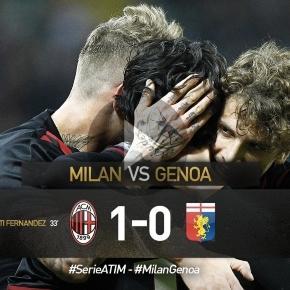 HIGHLIGHTS Milan-Genoa 1-0: Mati fernandez video gol