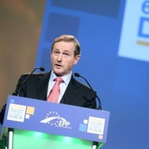 Irish PM Enda Kenny was described 'sticking it to' President Donald Trump in a St. Patrick's Day speech / European People's Party, Flickr CC BY-SA 2.0