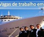 Conheça as oportunidade de trabalho em navios de cruzeiro